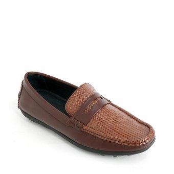 Giày mọi nam 6022 - Nâu