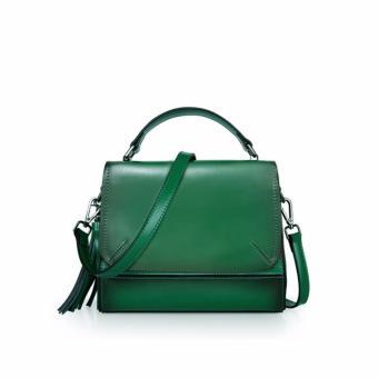 Túi xách nữ cao cấp phong cách trẻ trung QSL087 (Xanh lá cây) - 4154304