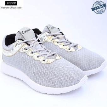 Giày Sneaker Zapas Classcial Màu Xám GZ001 - Hãng Phân Phối Chính Thức
