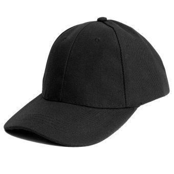 Unisex Cotton Baseball Caps Classic Solid Color Sports Summer Sun Hats - Intl