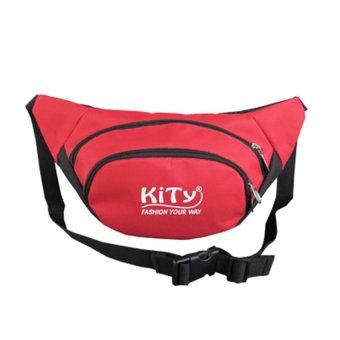 Túi đeo bụng du lịch M01 (Đỏ)