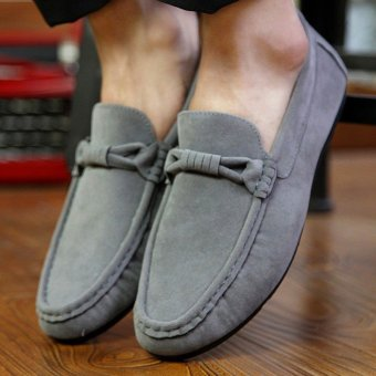 Men's sneakers Driving Moccasins Casual Breathable Flat England Fashion Shoes - intl