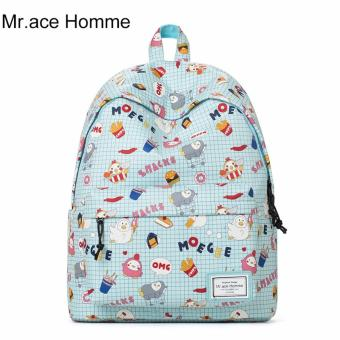 Balo Thời Trang Mr.ace Homme MR16C0440B01 / Xanh phối hoạt hình