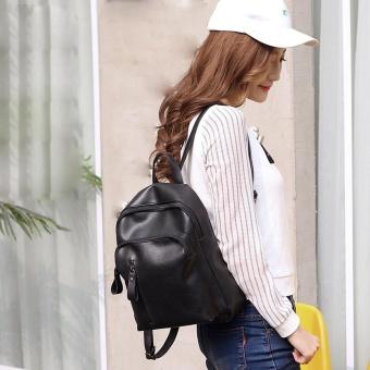 Travel Backpack Women Backpack Leisure Student Schoolbag Soft Women Bag - intl
