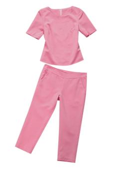 Set quần áo dạo phố (Hồng)