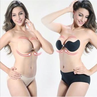 Áo Ngực Không Dây Dán Nâng Ngực Vbra (Màu Da)