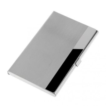 BolehDeals Stainless Steel Business ID Credit Card Holder Card Case #5 - intl