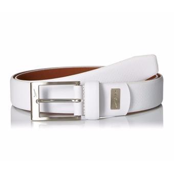 Thắt lưng (nịt) thể thao nam da thật cao cấp Nike Men's Pin Dot Embossed Belt (Mỹ)