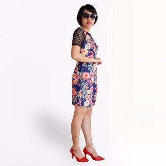 Đầm thun hàn OYO FASHION (đỏ)