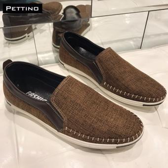 Giày Lười Nam - Pettino GL-04 (nâu)