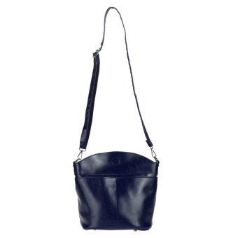Women Handbags Cattlehide Leather Crossbody Shoulder Bag (Blue) - intl