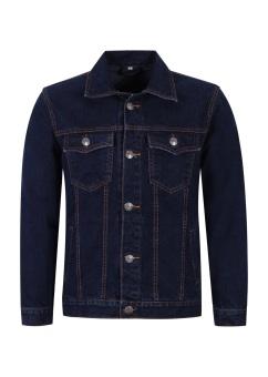 Áo Jeans Nam D.A (Xanh Đậm)