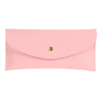Korean Wallet Card Package Clutch Purse Faux Leather Envelope Candy(04) (Intl)