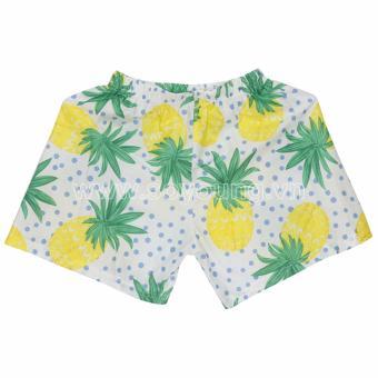 Quần Shorts Nữ Hawaii Họa Tiết Quả Dứa WM SHORTS 700005 C