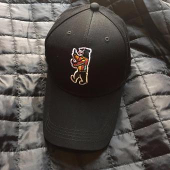 Mũ cap cong Berjin M009 đen