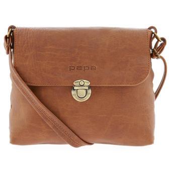 Túi đeo chéo nữ PAPA PPT003 (bò nhạt)
