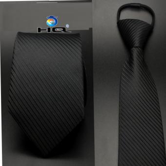 Cà vạt nam bản vừa kéo khóa HQ 2TI48 6(đen)