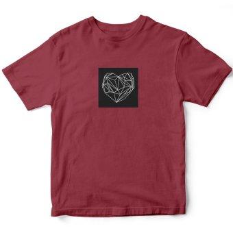 Áo Thun Heart Graphic (Đỏ)