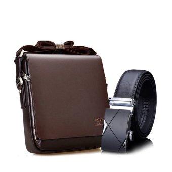 Bộ túi đeo chéo đựng ipad Kangaru 4364 và thắt lưng khóa tự động Hanama TGB