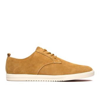 Giày Sneaker nam Clae Ellington Suede (Cla01246) (Bò)