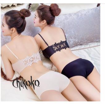 Combo 02 quần lót đúc su mát có size cho người mập CHIKOKO (Da+ đen )