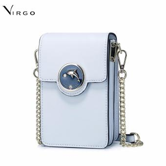 Túi đeo chéo đựng điện thoại Cá heo màu xanh VG256