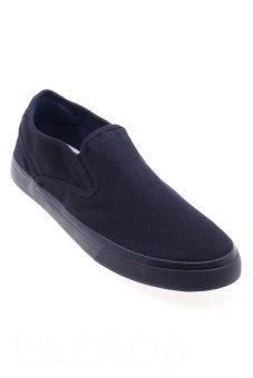 Giày nam phong cách thể thao Aqua Sportswear L0051 (Đen Đen)