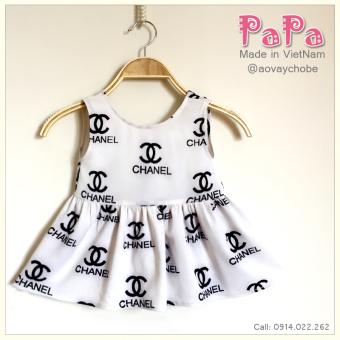 Đầm Xẻ Hở Lưng Nơ Sau Papa Fashion