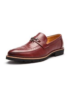 Giày Nam Công Sở ZOMA S1044 Đỏ