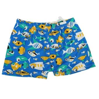 Fashion Holidays Children Boys Swimming Shorts Beachwear Swimwear Shorts- #6 - intl