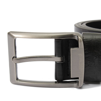 Fashion Men's Genuine Leather Vintage Classic Pin Buckle WaistBand Strap Belts - Intl