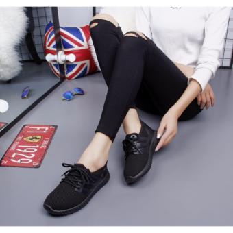 Giày thể thao nam nữ thời trang (Đen).