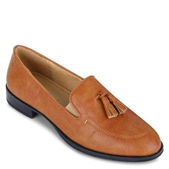 Giày mọi đính tua rua