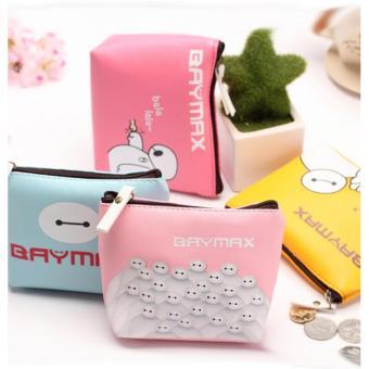 Túi baymax mini ngộ nghĩnh ( hồng nhạt)