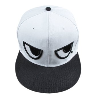 Unisex Adjustable Baseball Cap White - INTL