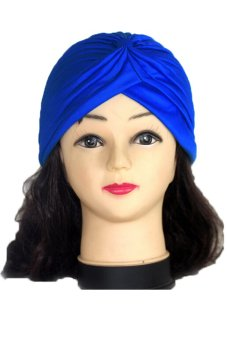 Lalang Adult Unisex Fashion Scarf Hat Dark Blue
