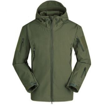 Fashion Men Waterproof Outdoor Hunting Camping Army Coat (Intl)