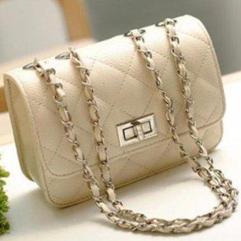 Túi xách nữ mini sành điệu T06 (kem)