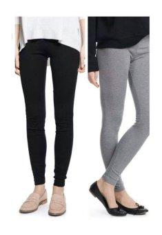 Bộ 2 quần legging cạp chun Salome Fashion