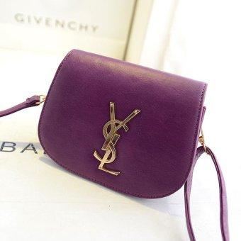 New spring handbag brand fashion one shoulder aslant camera change purse - intl