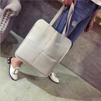Women Fashion Bag Shoulder Bags Solid Big Handbag Large Capacity Handle Bags BG - intl