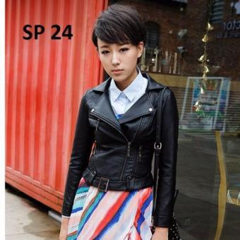 Áo khoác da nữ SP 24