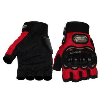 Găng tay cụt ngón Probiker - BT3(đỏ)