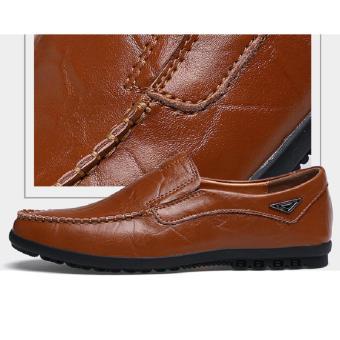 Giày Lười Nam Cao Cấp - Pettino GL-08 (nâu)