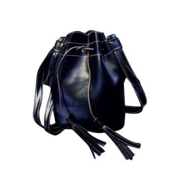 New Women Handbag Shoulder Bag Tassel Messenger Hobo Bag Purse Satchel Black - Intl