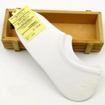 Vớ (Tất) nửa bàn chân sợi tre khử mùi Nhật (trắng)