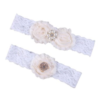 Baby And Mom Flower Lace Hair Bands Children Headbands Girls Accessories - intl