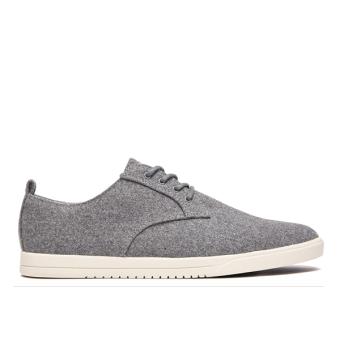 Giày Sneaker nam Clae Ellington Textile (Cla01275) (Xám Lông Chuột)