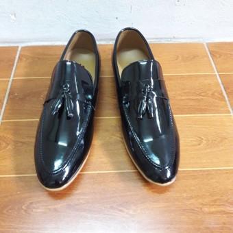Giày Công Sở Da Bóng Madaz6 (Đen)