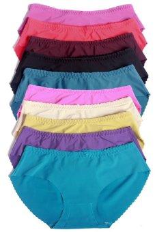 Bộ 10 quần lót nữ từ 52kg trở xuống